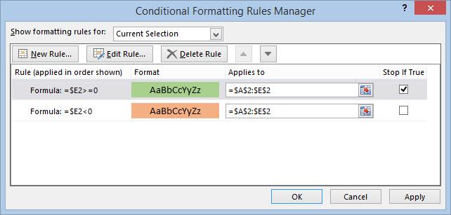 Excel Condition 04