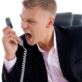 Taking action against unwanted telephone callers