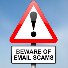 Final update on email scams in 2014