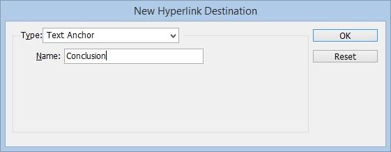 InDesign Link Step 02