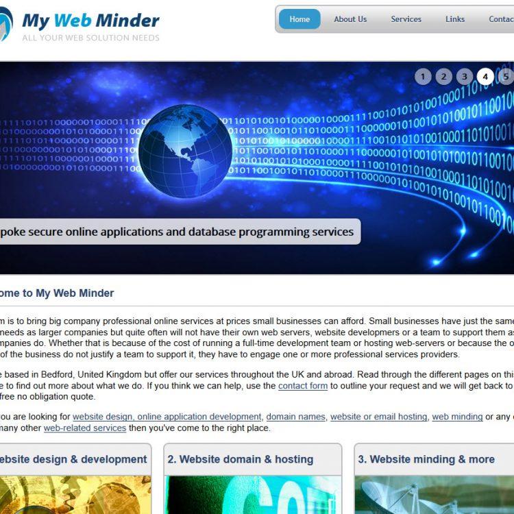 My Web Minder