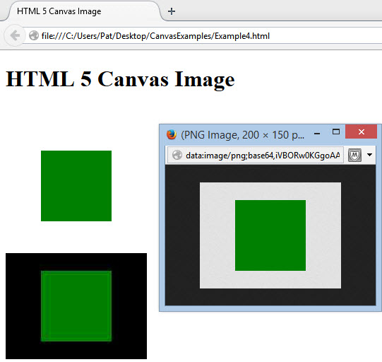 HTML5 Canvas Image