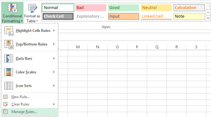Excel Condition 02