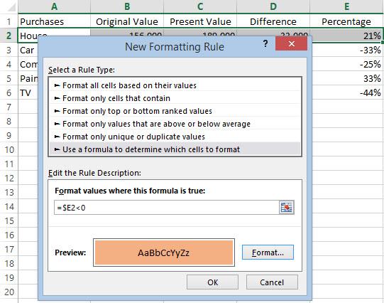 Excel Condition 03