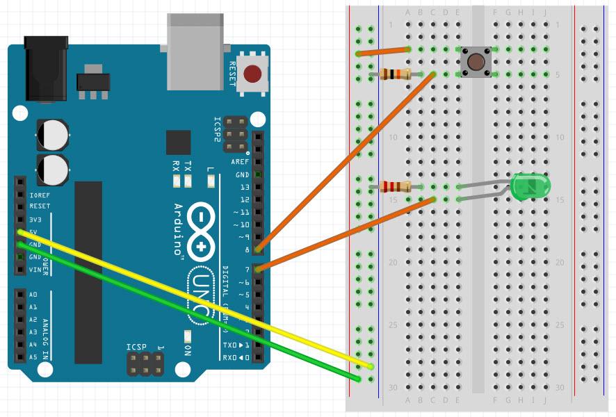 Arduino Fritzing Sketch