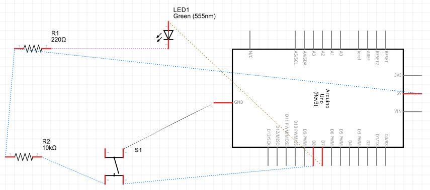 Arduino Fritzing Schematic