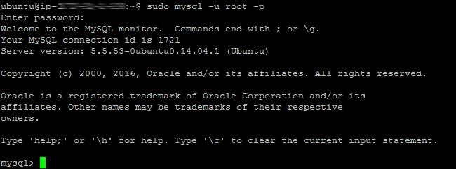 MySQL 01