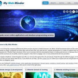 Rework on My Web Minder and Pat Howe websites