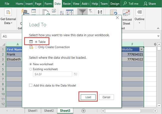 Excel Data Consolidation Example 14