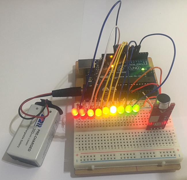 Arduino Sound Sensor - Loud Bang Detected