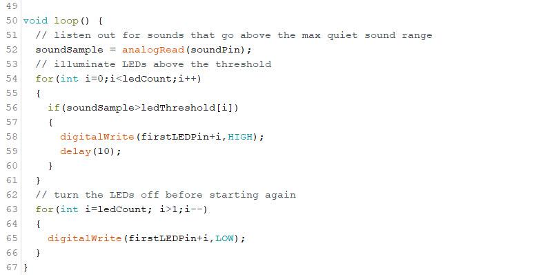 Arduino Sound Sensor Code 3