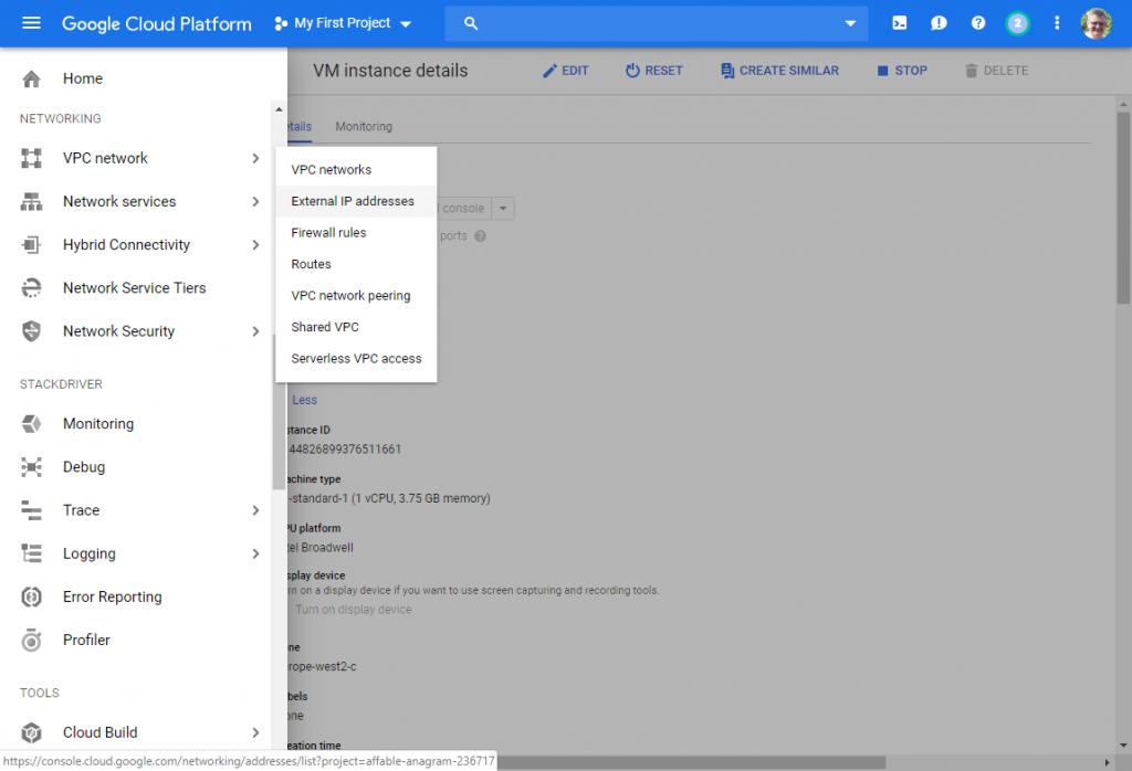 Get a free Linux server with Google Cloud Platform - Pat Howe's Blog
