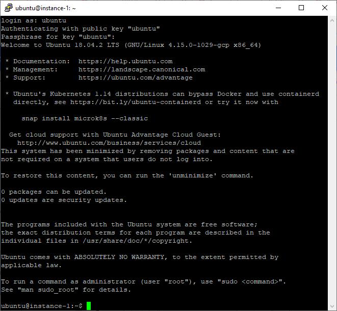 Get a free Linux server with Google Cloud Platform - Pat