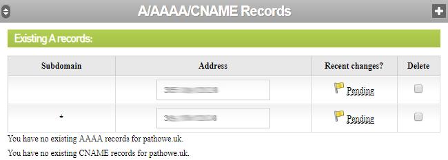 DNS Entry