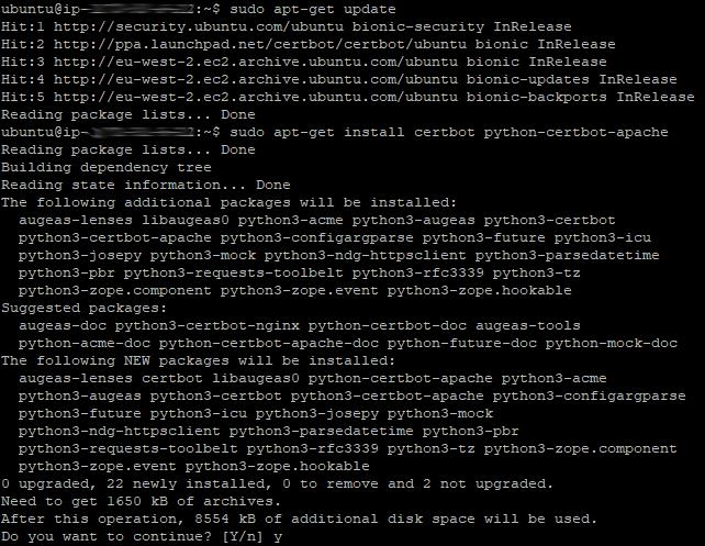 Certbot Install 03