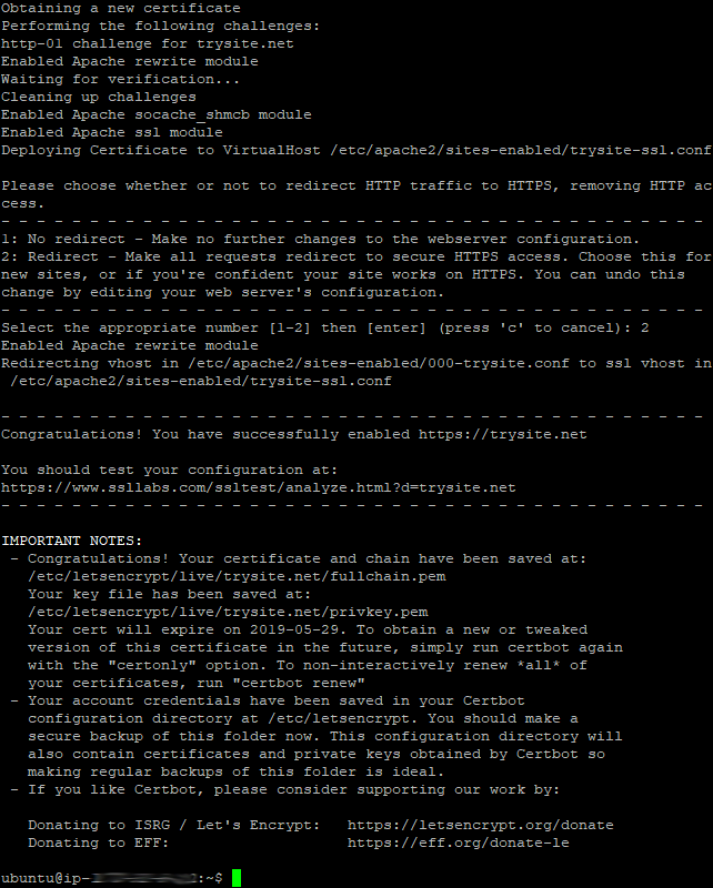 Certbot Install 05