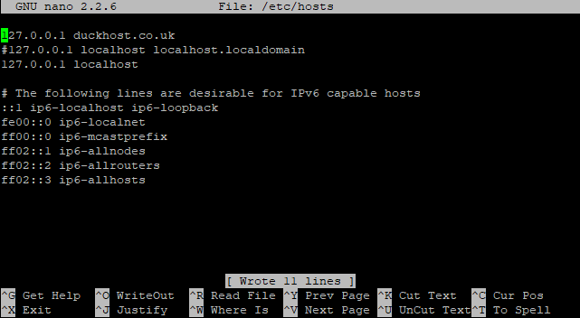 Switching Hostname 03