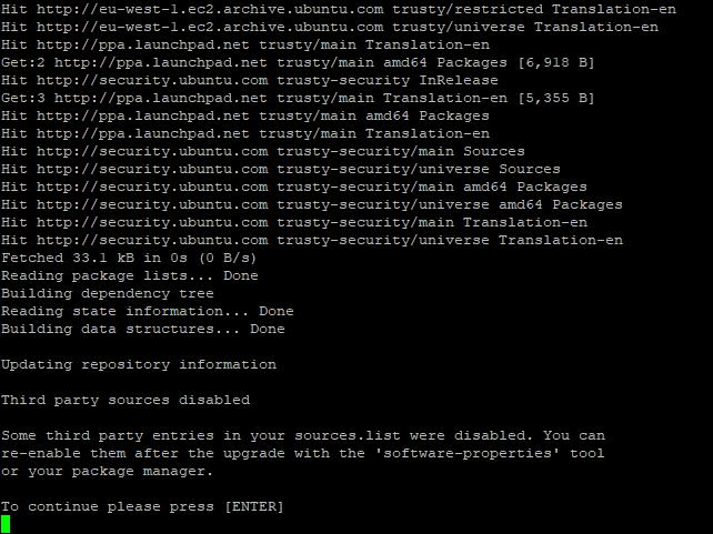 Ubuntu 14.04 to 16.04 LTS - 04