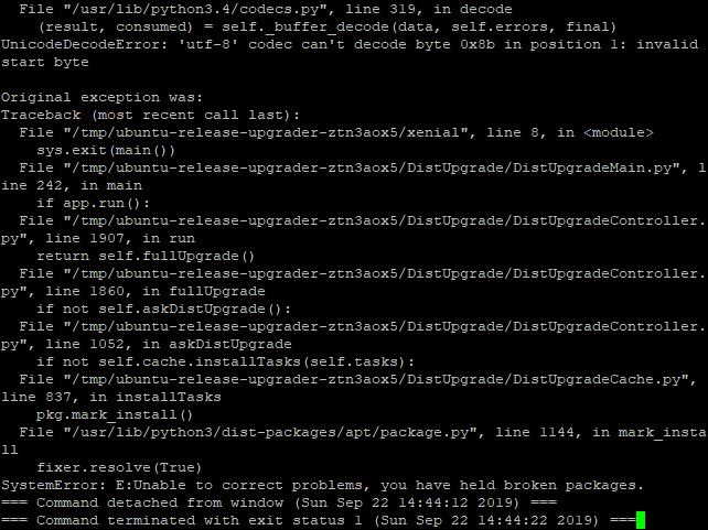 Ubuntu 14.04 to 16.04 LTS - 05