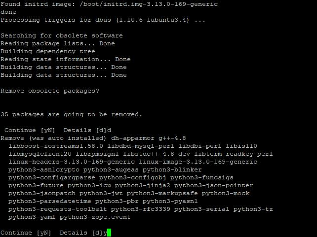 Ubuntu 14.04 to 16.04 LTS - 14
