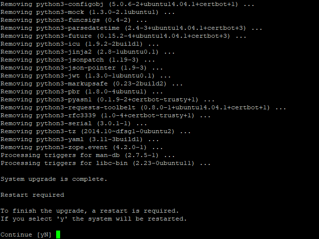 Ubuntu 14.04 to 16.04 LTS - 15