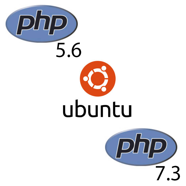 PHP 5.6 and PHP 7.3 on Ubuntu 16.04