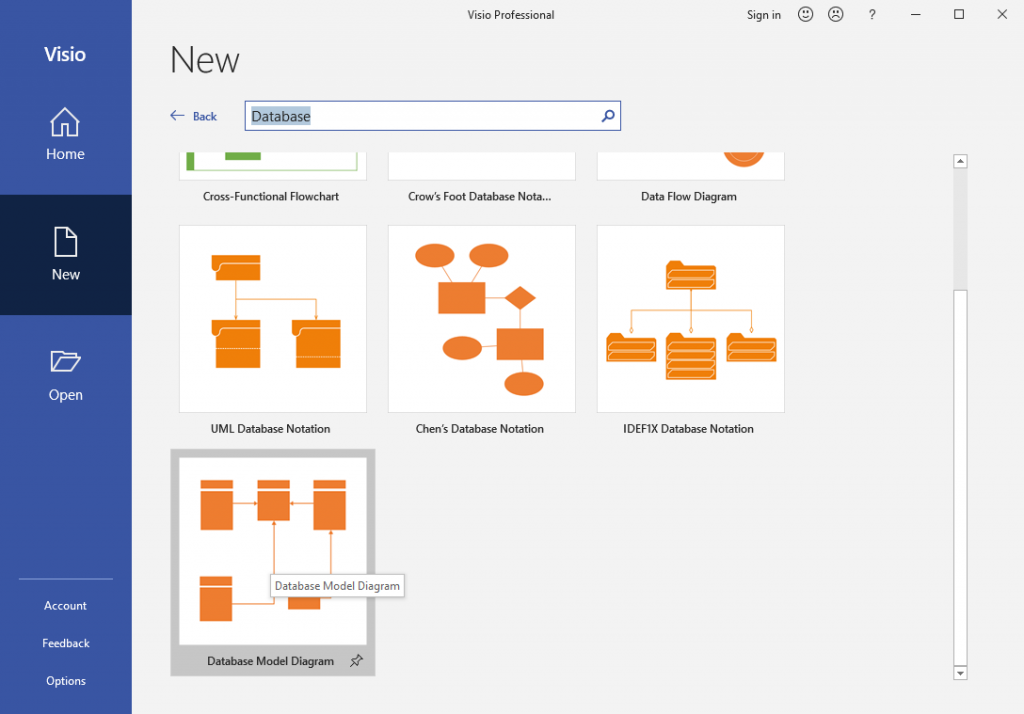 Reverse Engineering And Generating Databases In Visio