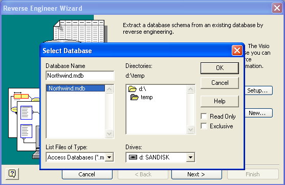 Visio DB Reverse Engineering Wizard 3