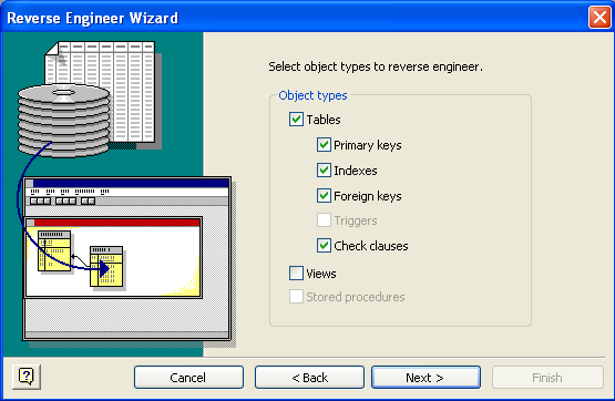 Visio DB Reverse Engineering Wizard 4