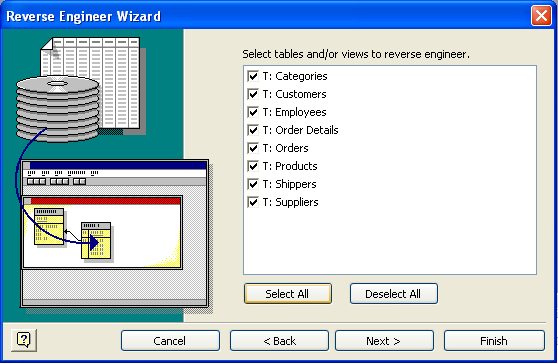 Visio DB Reverse Engineering Wizard 5