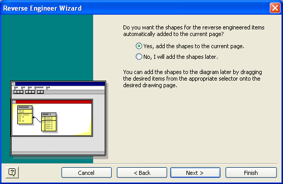 Visio DB Reverse Engineering Wizard 6