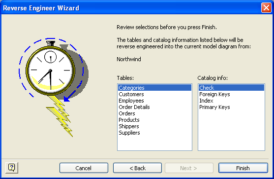 Visio DB Reverse Engineering Wizard 7