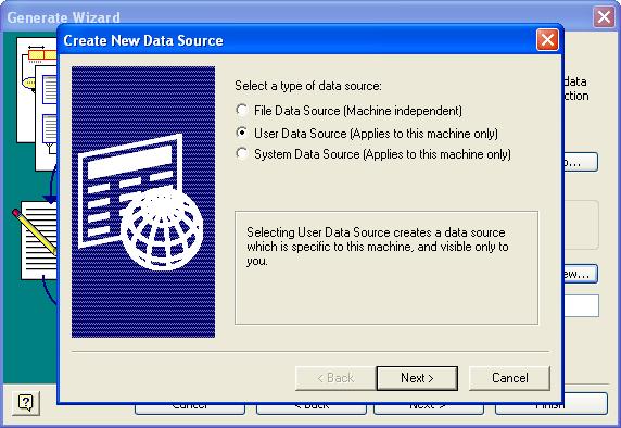Visio Database Generate Wizard 2 - New 1