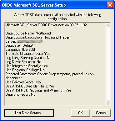 Visio Database Generate Wizard 2 - New 7