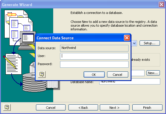 Visio Database Generate Wizard 4