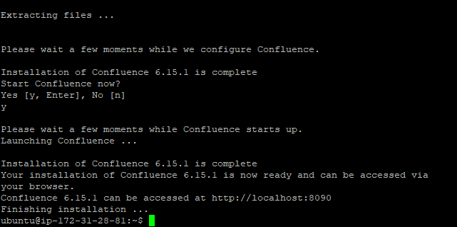 confluence install 2